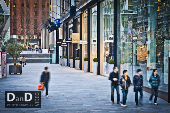 Spinningfields Manchester commercial photography