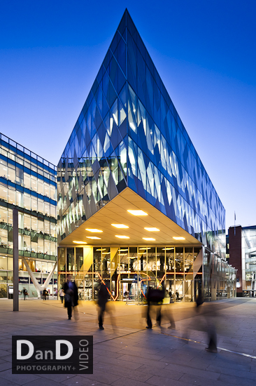 Commercial buildings photography Manchester