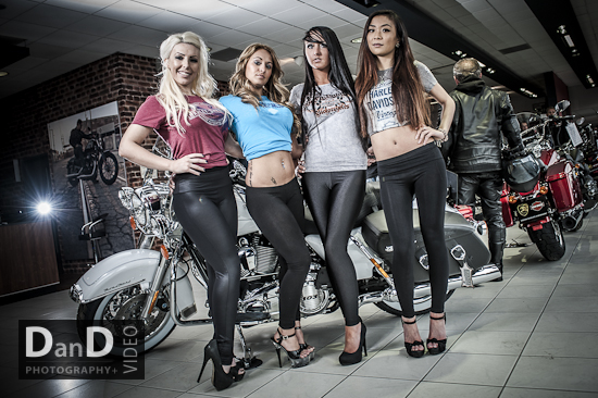 Harley Davidson Leeds launch event