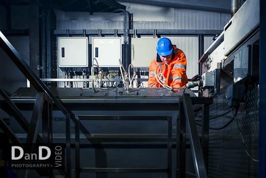 Commercial industrial photographer Leeds