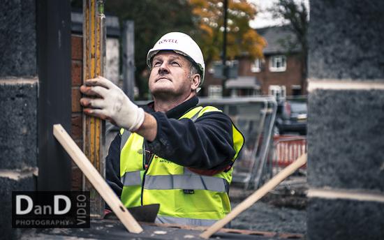Construction photographer Manchester