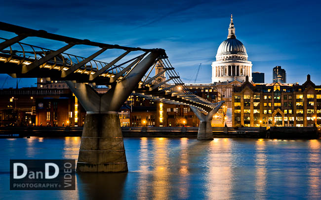 Commercial photography shoot of London for wall art, on display in UCH Macmillan London
