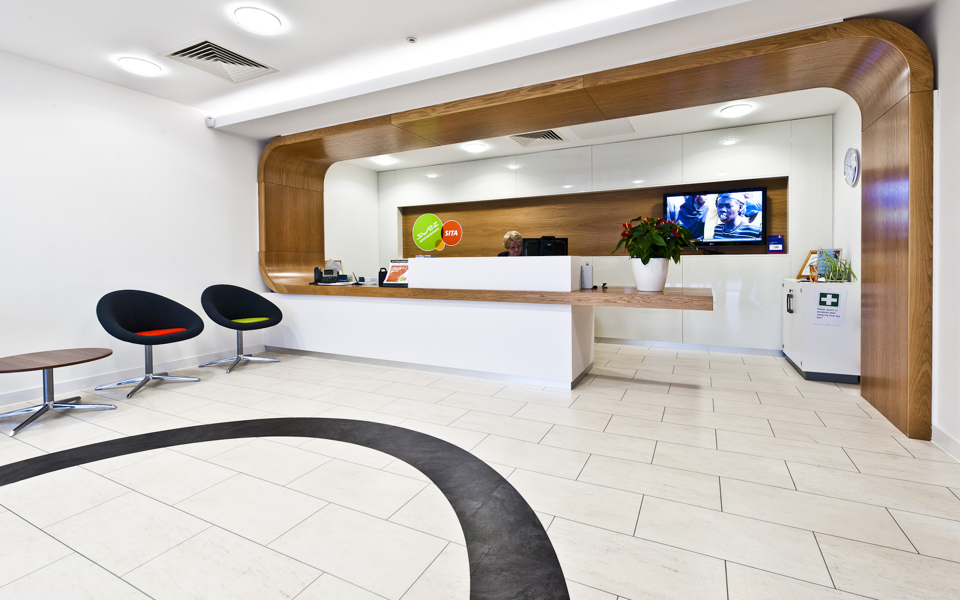 Internal corporate photography shoot for SITA SUEZ