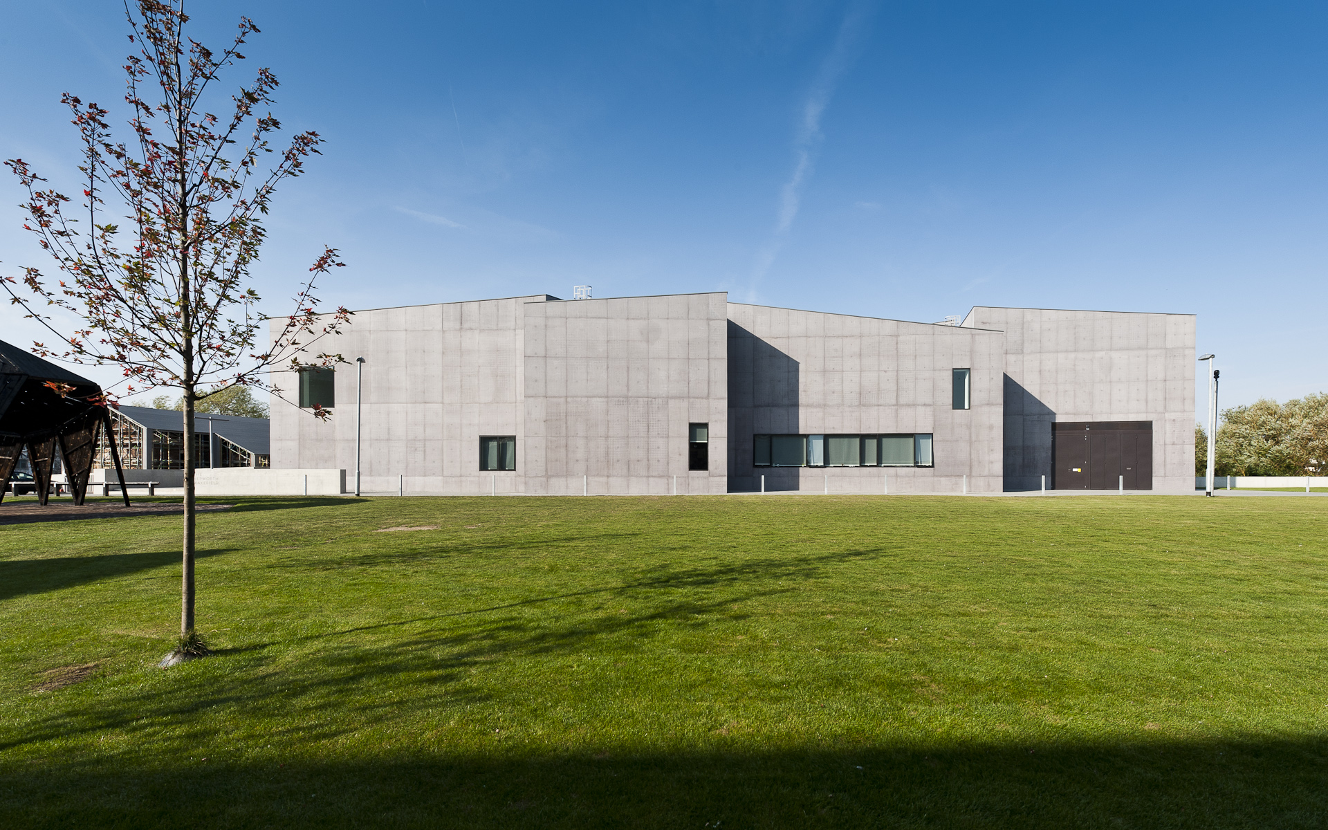 Rear aspect of Hepworth Wakefield gallery