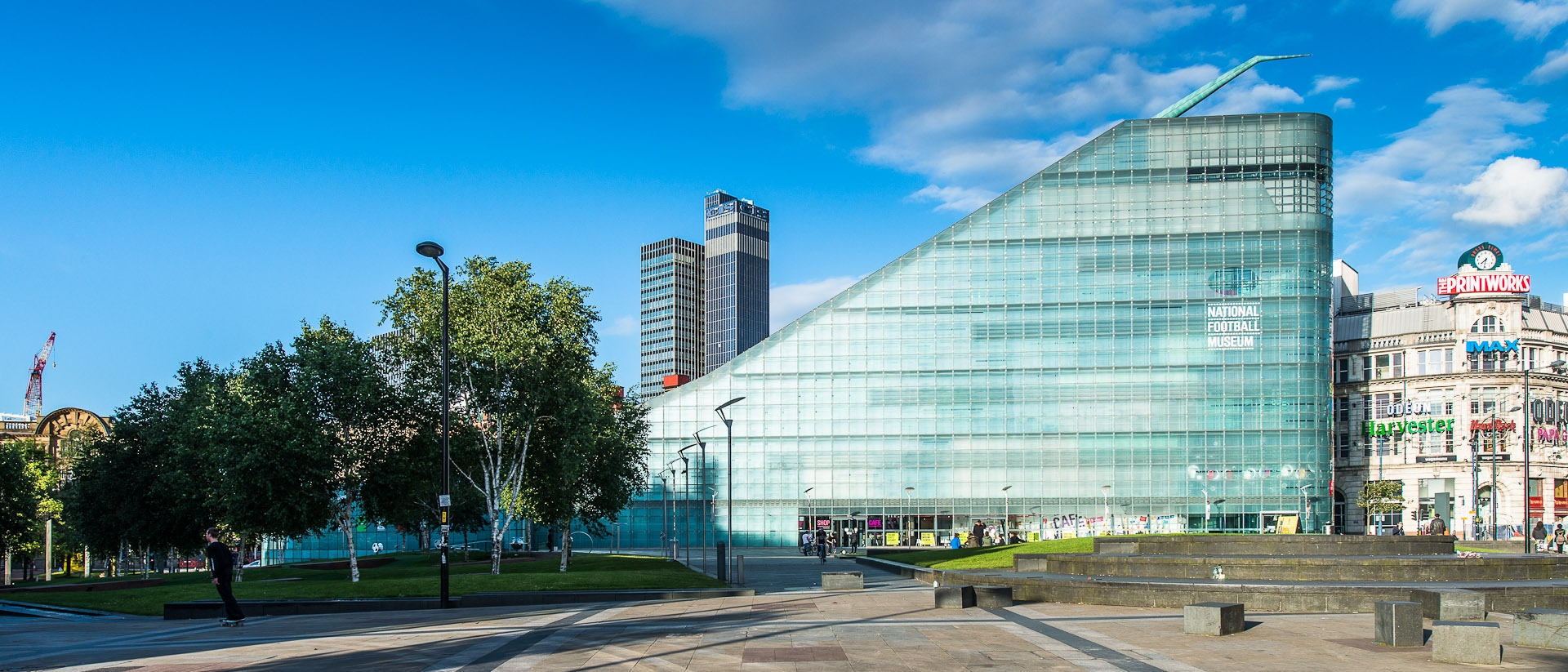 Urbis national football museum printworks Manchester